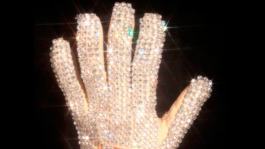 Michael Jackson's glove from his 1983 performance of Billie Jean at the Motown 25 television special where he performed the Moonwalk for the first time.