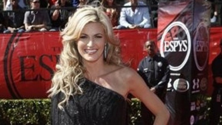 July 15, 2009: Erin Andrews arrives at the ESPY Awards on Wednesday , in Los Angeles.