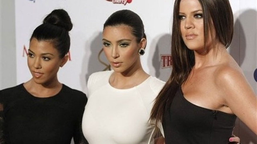 Kourtney, Kim and Khloe Kardashian