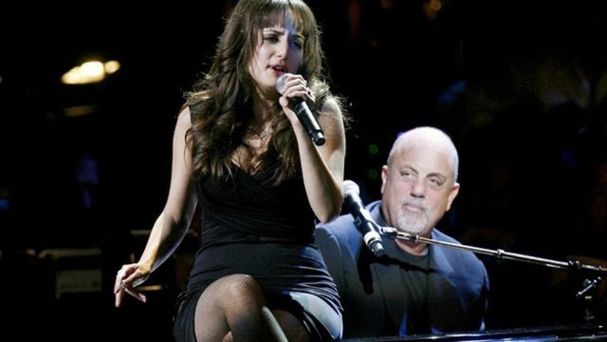 May 8: Singer Billy Joel and his daughter Alexa Ray Joel perform during the Rainforest Foundation Benefit Concert in New York.