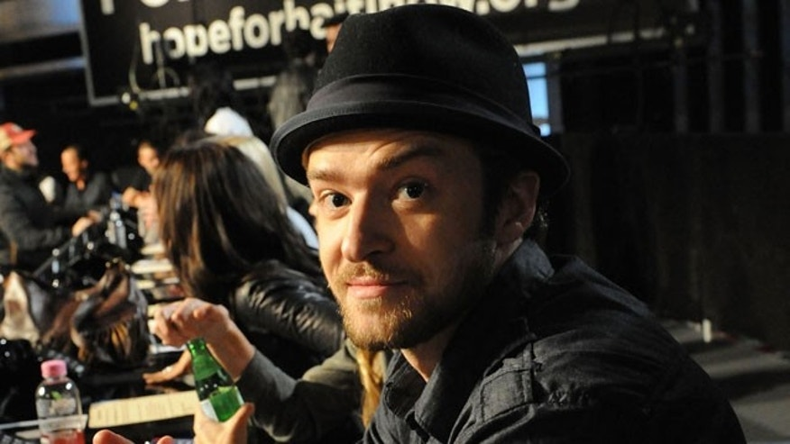 Jan. 22: Justin Timberlake was one of many celebrities who participated in the Haiti telethon.