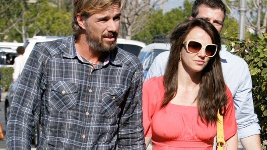 Feb. 14: Jason Trawick and Britney Spears out and about on Valentine's Day