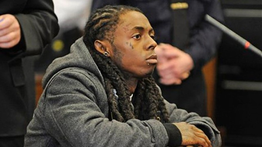 March 8: Rapper Lil Wayne is sentenced in Manhattan criminal court to a year in a New York City jail for having a loaded gun on his tour bus in 2007.