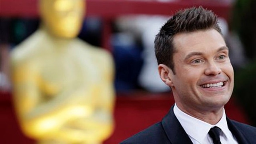 March 7: Ryan Seacrest arrives at the 82nd Academy Awards in the Hollywood section of Los Angeles.
