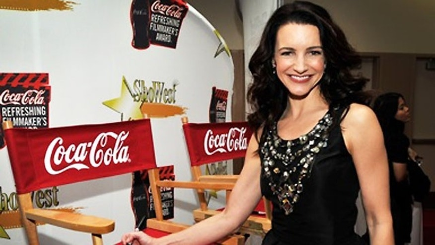 Kristin Davis at the ShoWest Awards