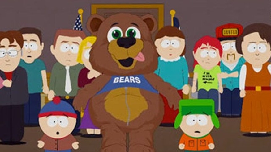 "RevolutionMuslim.com posted a warning following the 200th episode of Trey Parker and Matt Stone's ""South Park,"" which included a caricature of the Prophet Muhammad disguised in a bear suit."