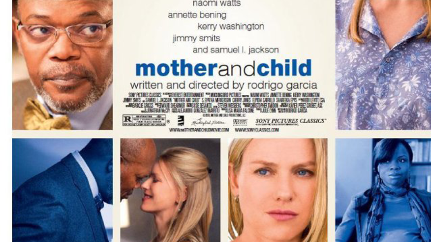 An excerpt of the poster for 'Mother and Child.'