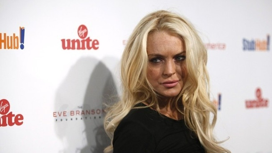 October 26, 2009: Actress Lindsay Lohan arrives at Sir Richard Branson and Eve Branson's Rock the Kasbah Gala to benefit Virgin Unite and the Eve Branson Foundation at Vibiana in Los Angeles.