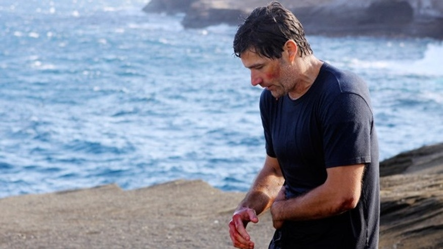"Matthew Fox appears as Dr. Jack Shephard in the series finale of ""Lost."""