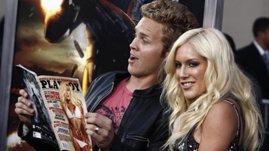 "Aug. 6, 2009: Television personalities Spencer Pratt, left, and Heidi Montag arrive at the premiere of ""G.I. Joe"" in Los Angeles."