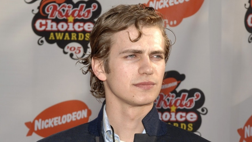 April 2, 2005: Actor Hayden Christiansen arrives at Nickelodeon's 18th annual Kids' Choice Awards at UCLA's Pauley Pavilion in Westwood, California.