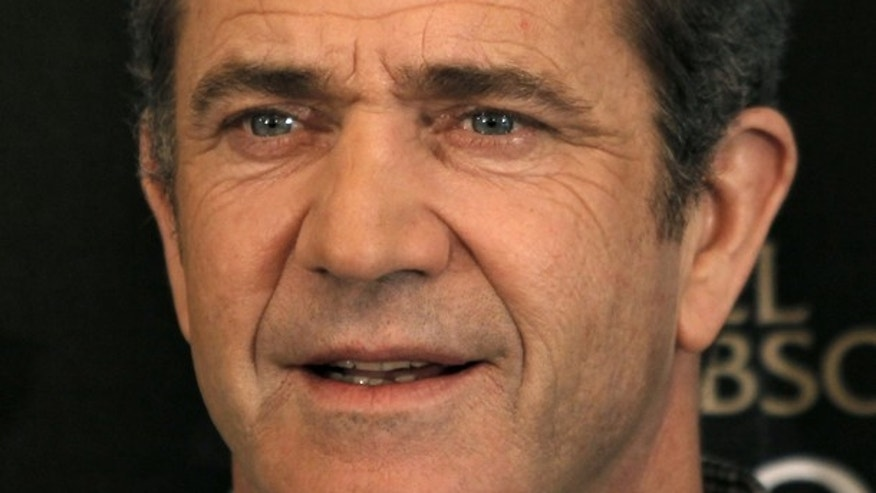 Feb. 4: Mel Gibson is seen during a photocall for his film 'Edge of Darkness.'