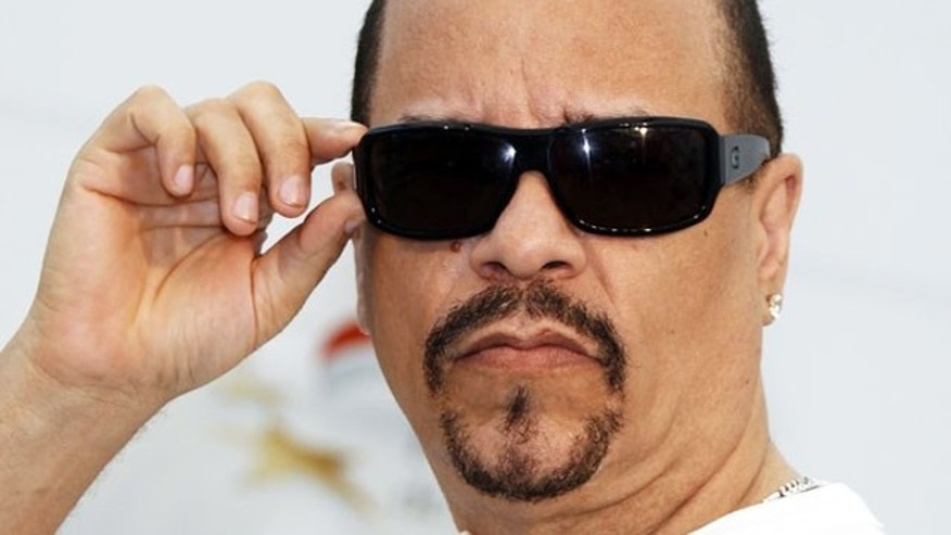 Rapper Ice-T was arrested and released Tuesday after driving with a suspended license in New York City.