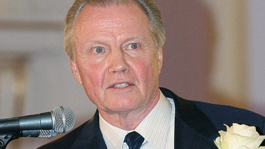 Jon Voight says he has great admiration for those involved in U.S. intelligence.