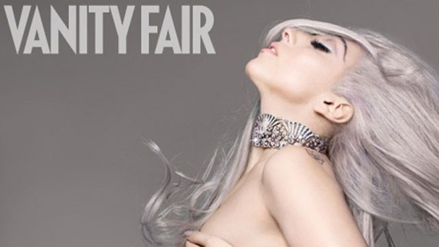Lady Gaga goes nude on the September cover of Vanity Fair magazine.