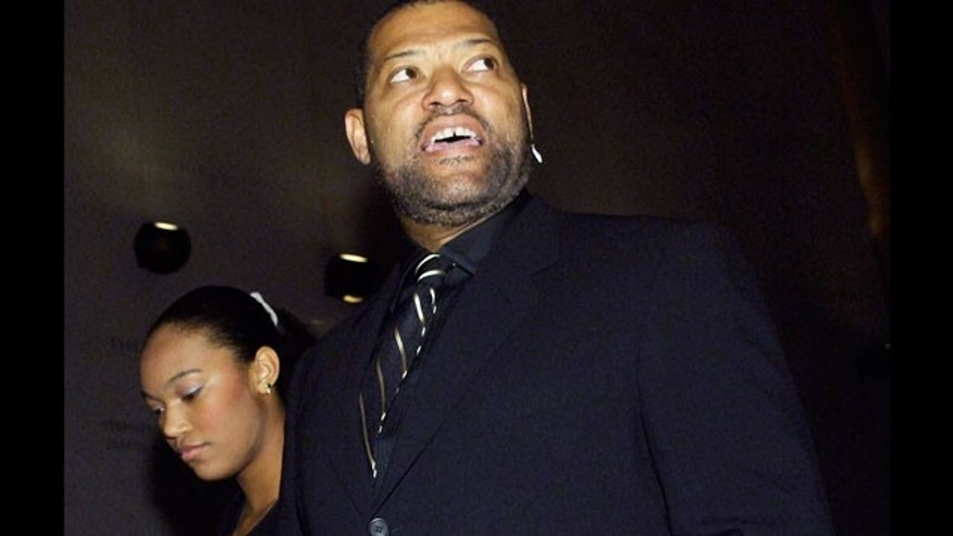 Laurence and Montana Fishburne, seen here in 2006 at a charity event.