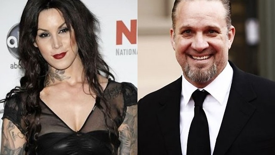 Kat Von D confirmed via Twitter that she and Jesse James are dating.