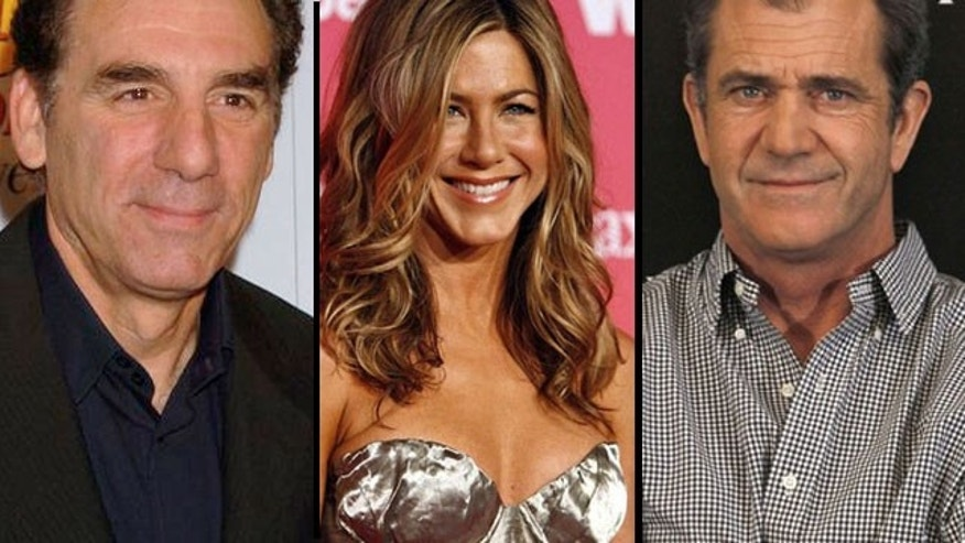 Michael Richards, Jen Aniston and Mel Gibson have made some questionable statements in their careers.
