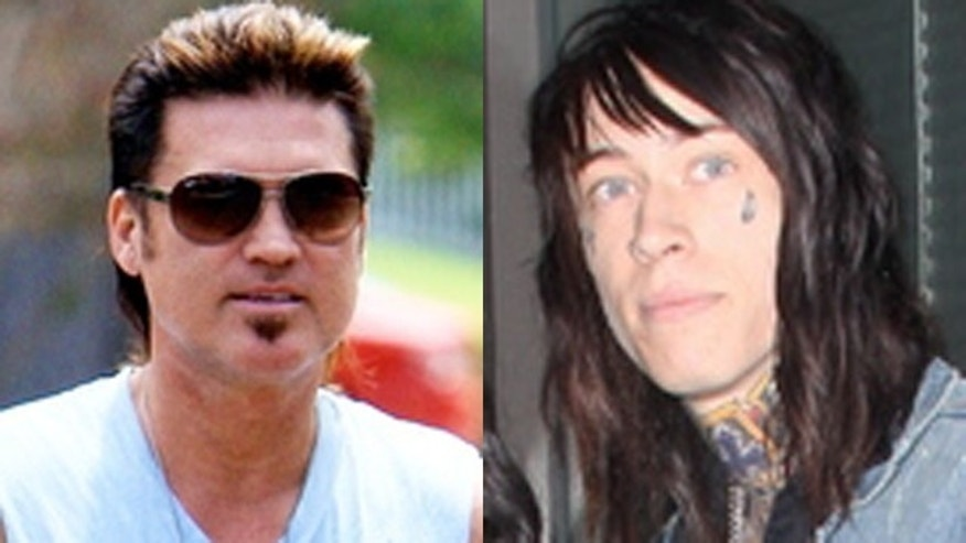 Billy Ray and Trace Cyrus. (X17Online.com)