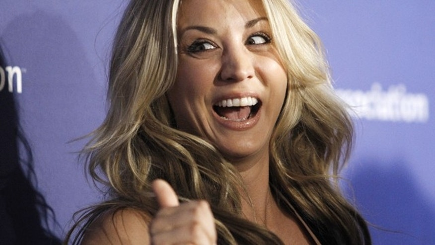 Kaley Cuoco. (Reuters)