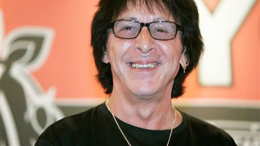Criss, a former drummer for Kiss, suffered breast cancer and is now raising awareness for the disease.