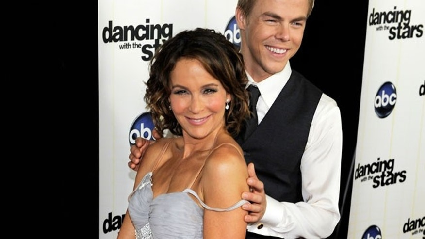 "Former ""Dirty Dancing"" star Jennifer Grey was the top scorer on last night's ""Dancing With the Stars."""