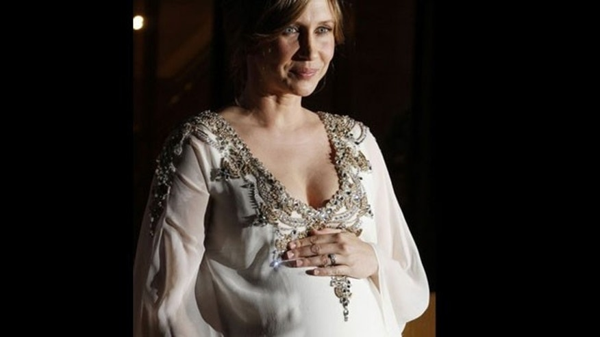 Is Vera Farmiga the hottest expectant mom right now?