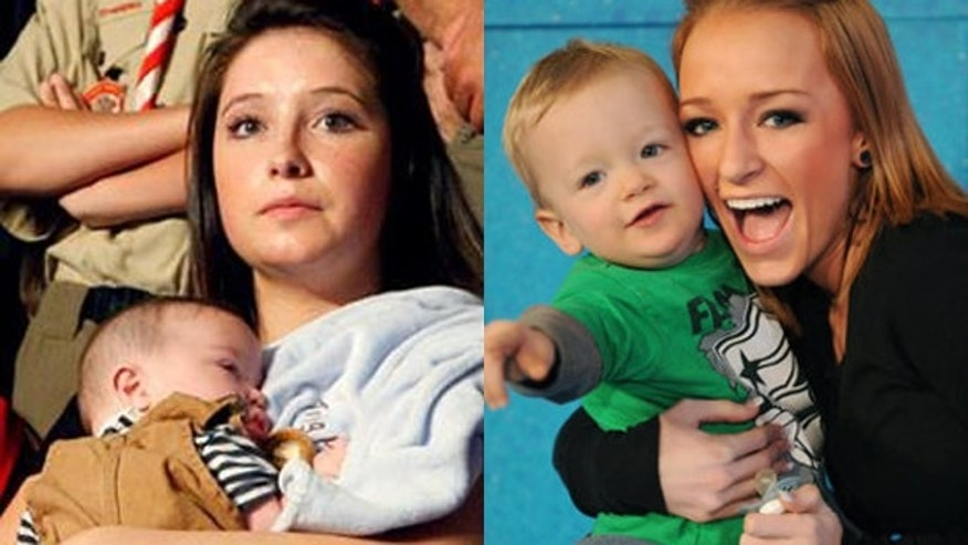 Bristol Palin and Maci Bookout. (AP/MTV)