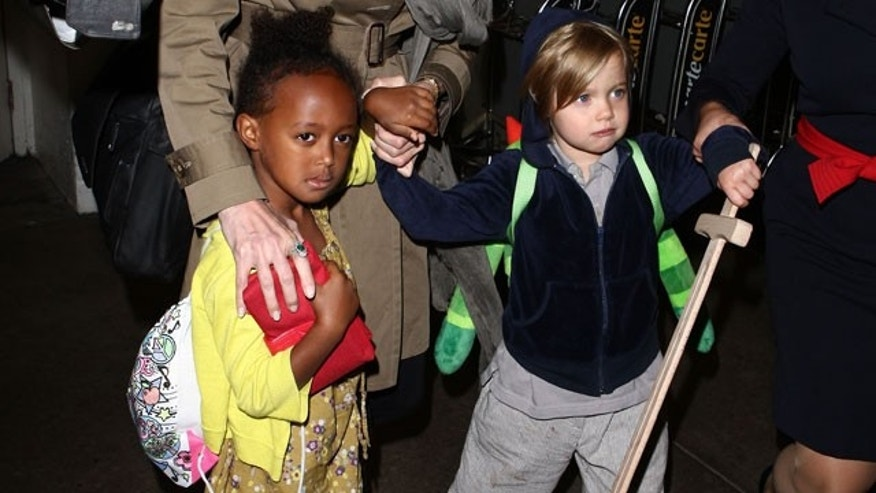 Angelina Jolie and Brad Pitt's daughters Zahara and Shiloh have their own distinctive styles.