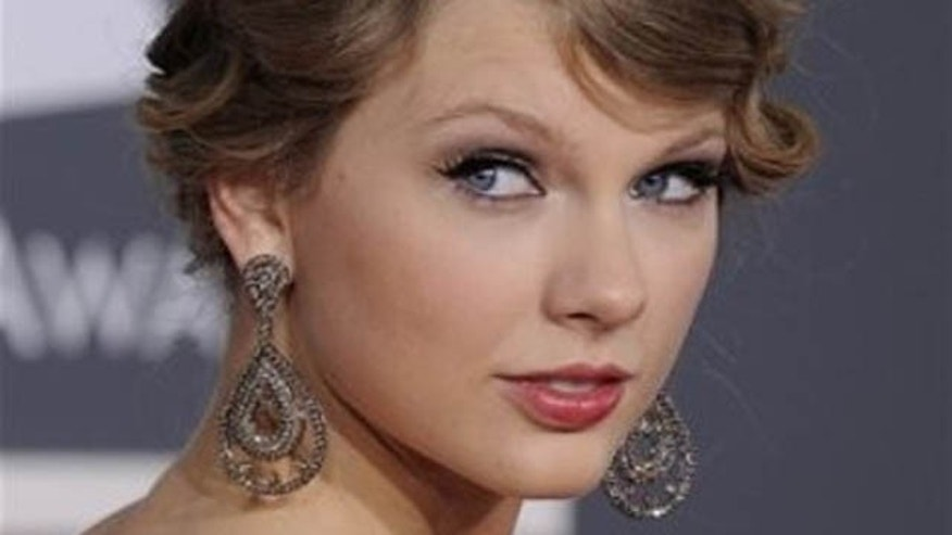 Jan. 31: Taylor Swift arrives at the Grammy Awards.