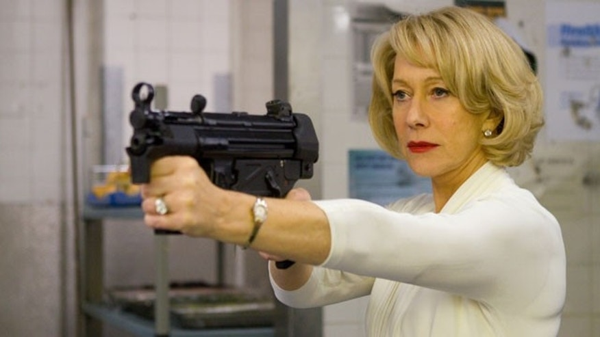 This scene from 'Red,' featuring Helen Mirren, got her castmates' pulses racing.