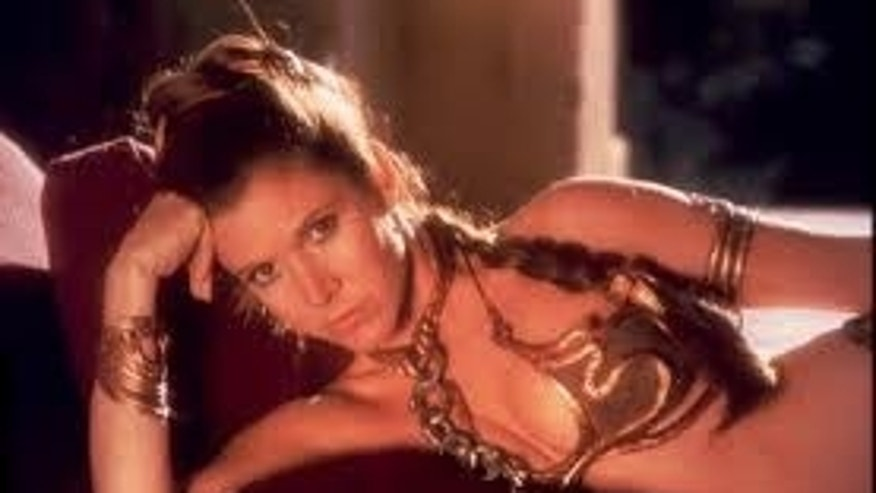Carrie Fisher as Princess Leia. (20th Century Fox)