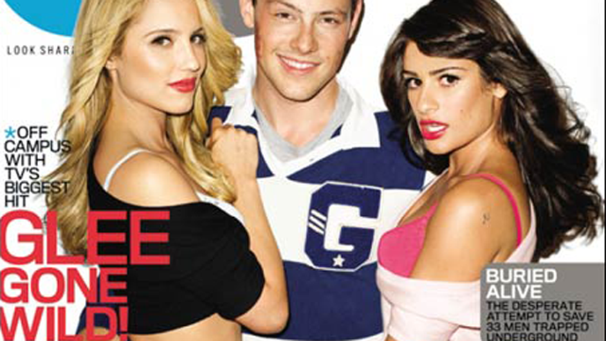 Soon the stars of 'Glee' may not only be half-naked in magazines. (GQ)