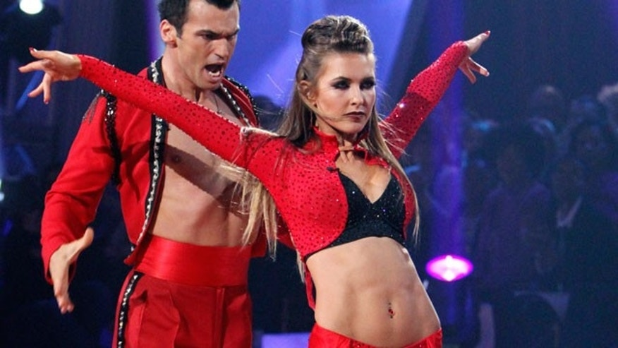 Audrina Patridge was sent home on Tuesday's 'Dancing With the Stars'