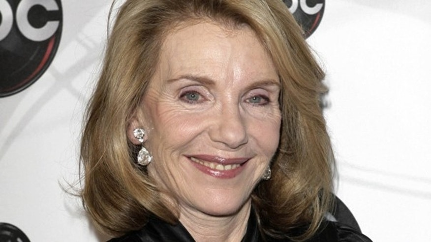 """In this May 15, 2007 file photo, Jill Clayburgh, star of """"Dirty Sexy Money"""" poses for photographers on the red carpet during the arrivals of ABC's 2007-2008 preview in New York."""