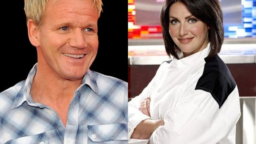 Gordon Ramsay and Holli Ugalde