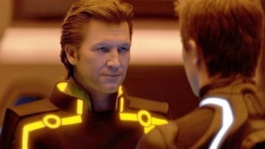 "Jeff Bridges shown in ""Tron: Legacy."" (AP)"