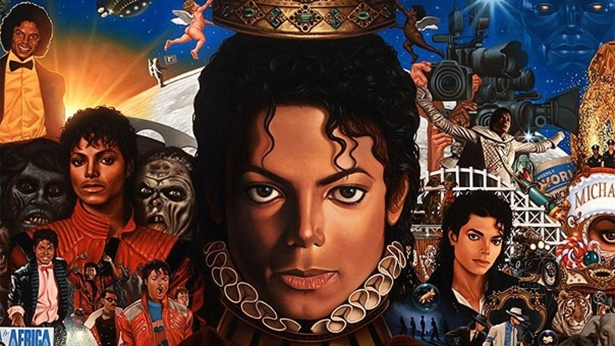 In this CD cover image released by Epic Records, newly completed recordings from Michael Jackson entitled 'Michael,' is shown. The CD will be released on Dec.14.