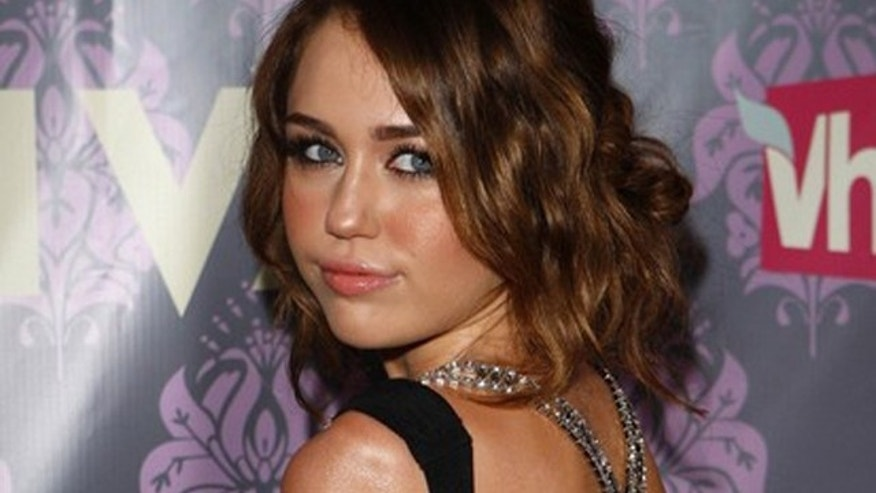 Sept. 17, 2009: Miley Cyrus arrives for the VH1 Divas show in New York.