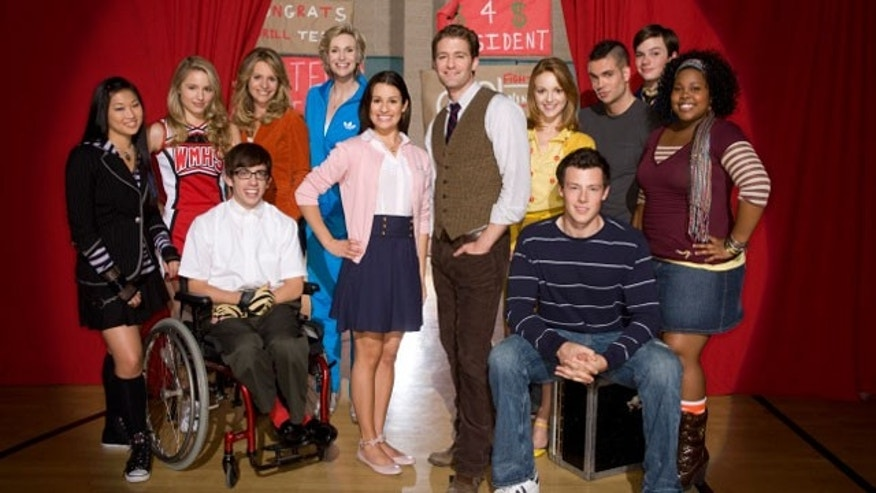 The cast of 'Glee' earned nominations for the Golden Globes Tuesday.