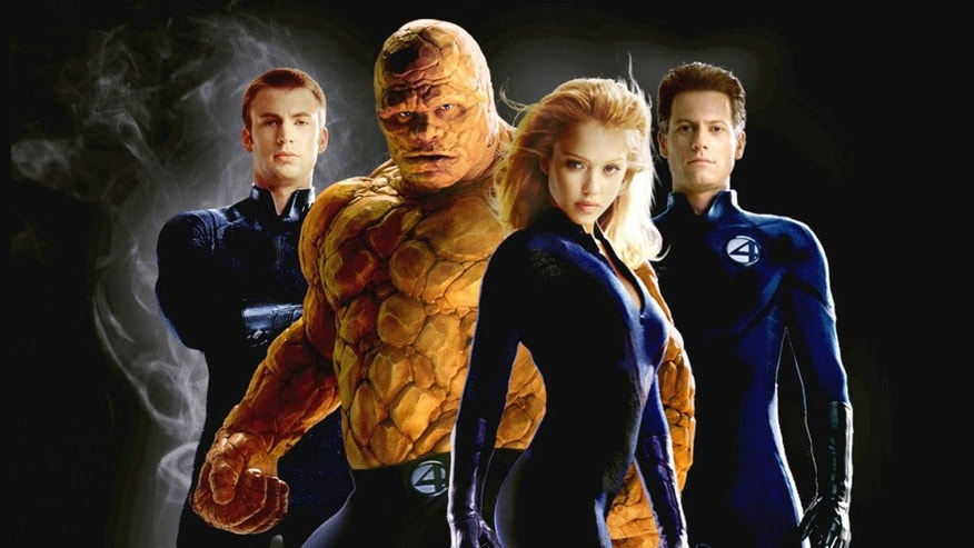 "A promotional shot for the cast of the movie version of ""The Fantastic Four,"" one Marvel's comic franchises. (20th Century Fox)"