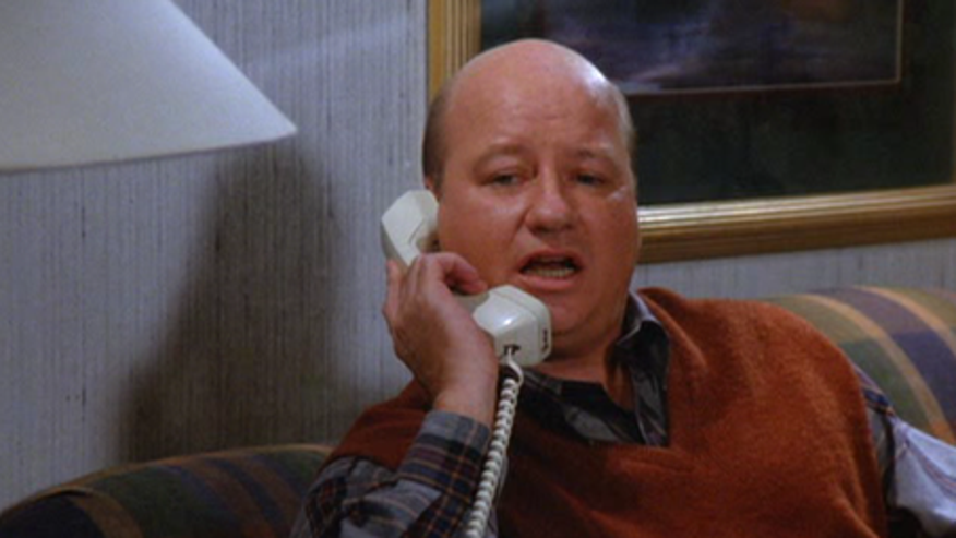 The 'high pitched voice guy' on an episode of 'Seinfeld.' (NBC)