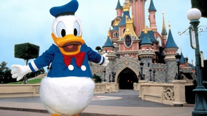 Donald Duck. (AP)