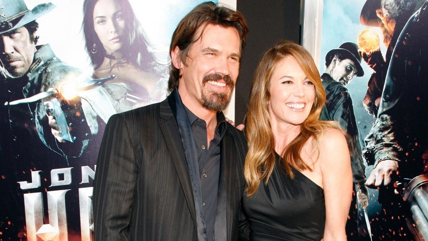 Josh Brolin and his wife Diane Lane. (Reuters)