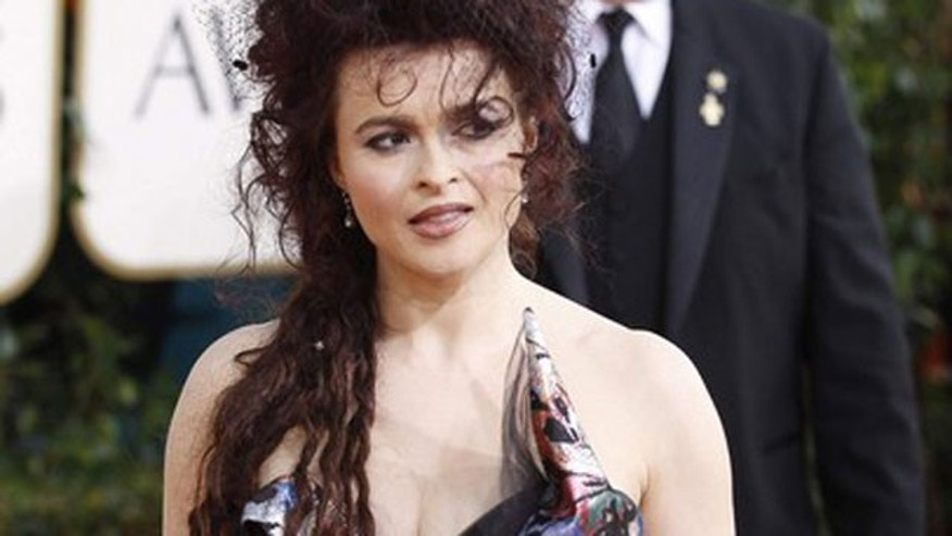 "Actress Helena Bonham Carter earned an Oscar nod for her performance in ""The King's Speech."" (Reuters)"