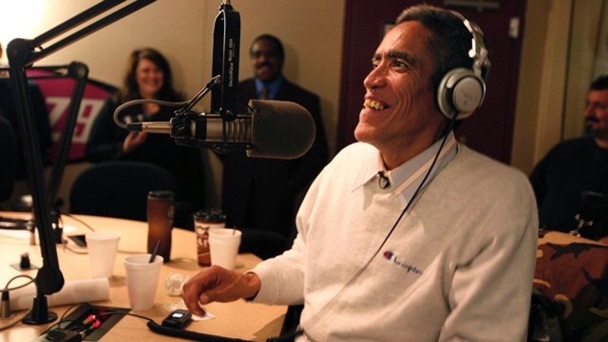 Jan. 5: Ted Williams, the homeless man with the golden voice, now sporting a new haircut and clean clothes, appears on the Morning Zoo program at WNCI (97.9 FM) in Columbus, Ohio.