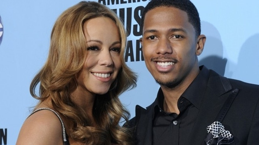 Mariah Carey and Nick Cannon. (Reuters)