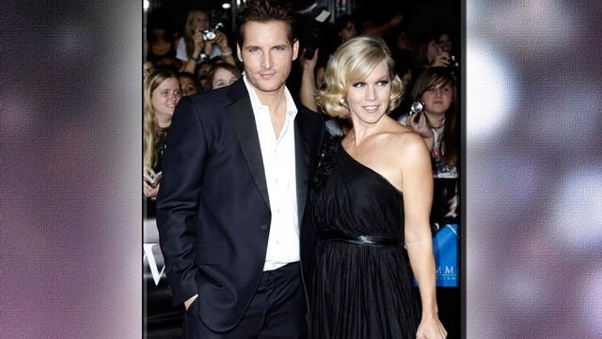 Peter Facinelli and wife Jennie Garth (AP)