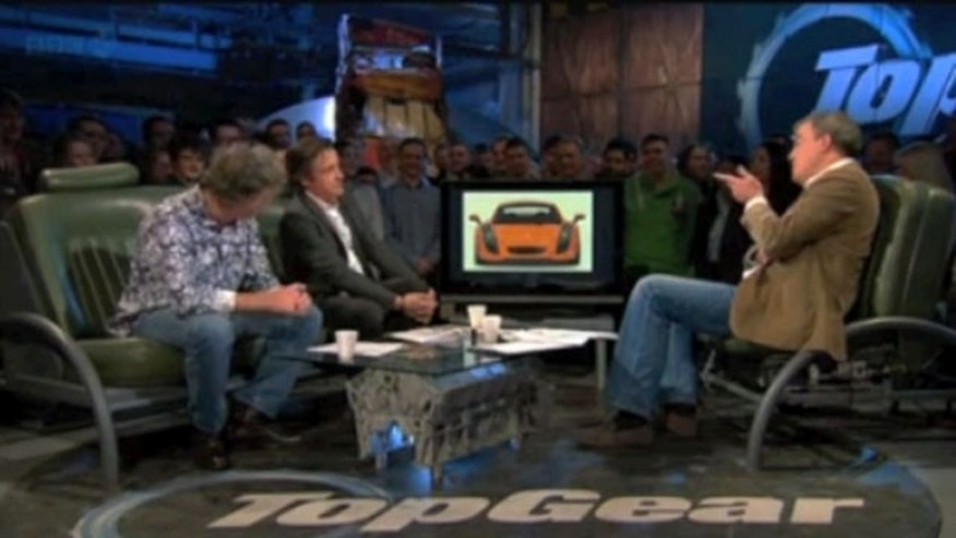 The hosts of 'Top Gear.' (BBC)