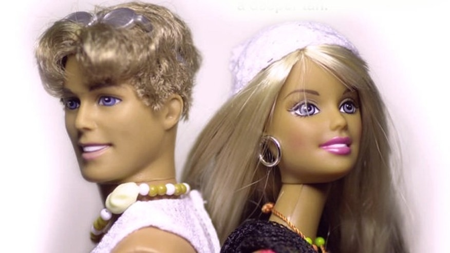Barbie and Ken, who split in 2004 after 43 years together, are possibly reuniting, according to posts on the dolls' social networking sites (AP).